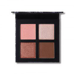 UCANBE Brand Mineral 4 Colors Eyeshadow Makeup Palette Matte Pigment -