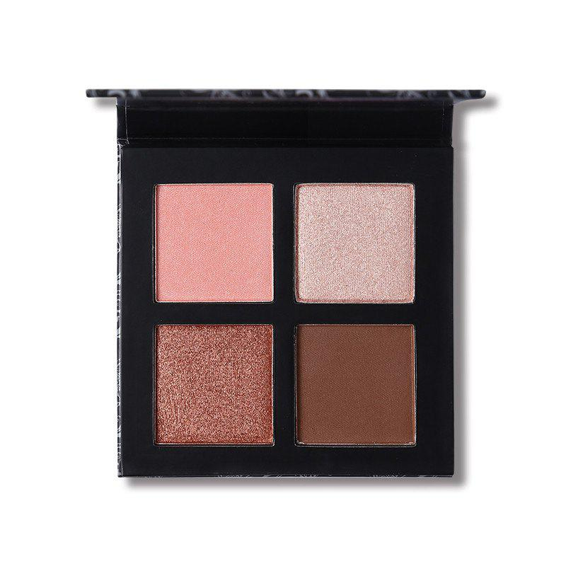 Affordable UCANBE Brand Mineral 4 Colors Eyeshadow Makeup Palette Matte Pigment