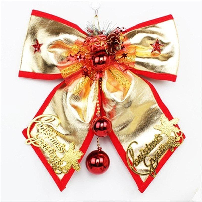 Outfits Christmas Ornament Large Bow Pendant