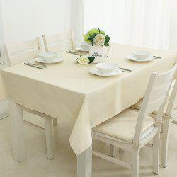 Live Series Beige impermeable Tablecloth from Jinsehuanian -