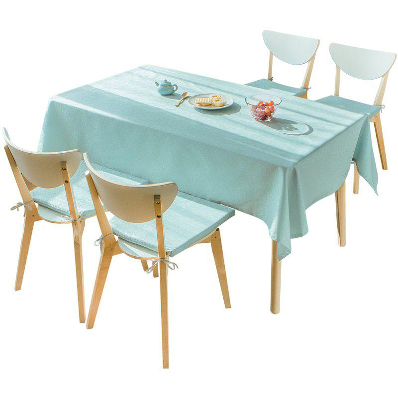 Fancy Live Series Blue Impermeable Tablecloth From Jinsehuanian