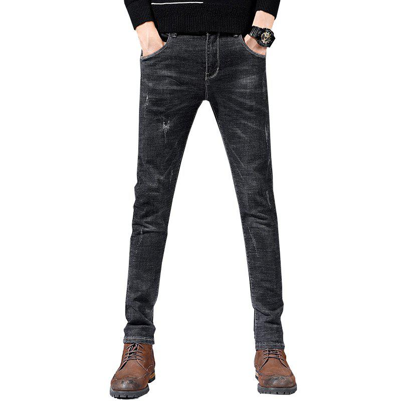 Best Men'S Fashion Casual Trend Slim Straight Pants