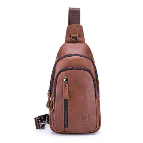 128d4d725700 Fashion Men Genuine Leather Crossbody Small Shoulder Casual Chest Messenger  Bag