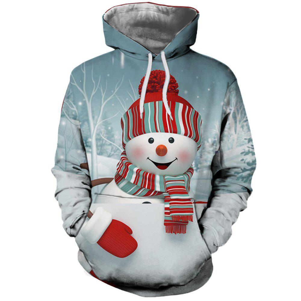 Outfit 3D Fashion Men's Digital Print Christmas Doll Hoodie
