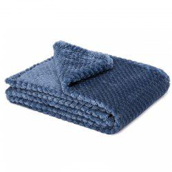 Super Soft Blanket Flannel Aircraft Sofa Use Office Children Blanket Towel -