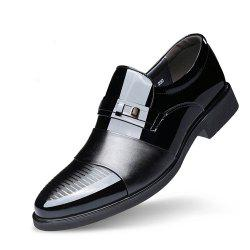 Men Business Suits Autumn Shoes Pointed Wedding Shoe of England -