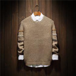Young Fashion Leisure Knitwear Sleeves Men'S Sweaters -