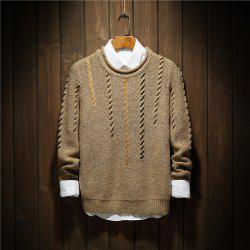 Men'S Personality Fashion Bottoming Sweater Fashion Collar Sweater -