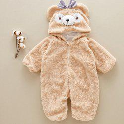 Baby Romper Cute Cartoon Winter Clothes Infant Girl Boy Jumpers Kids -
