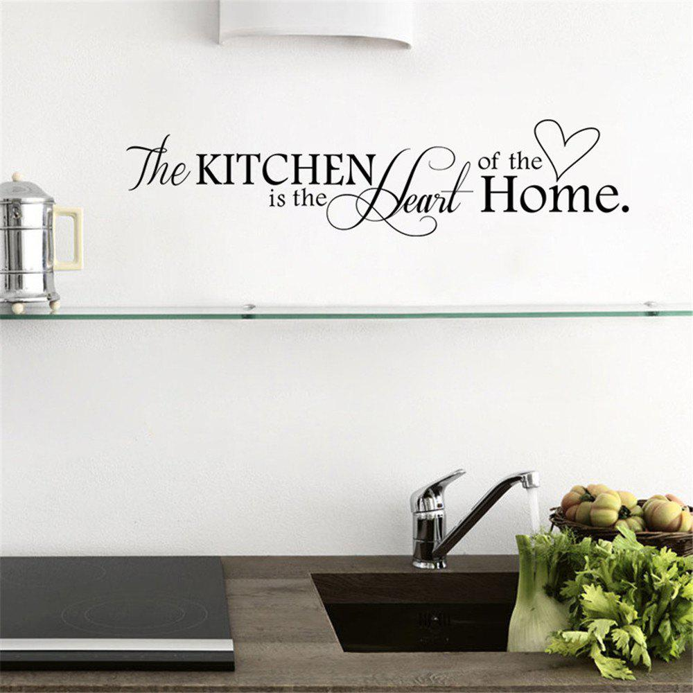 Love Kitchen Wall Stickers Restaurant Wall Decoration Wall Stickers Home Decal