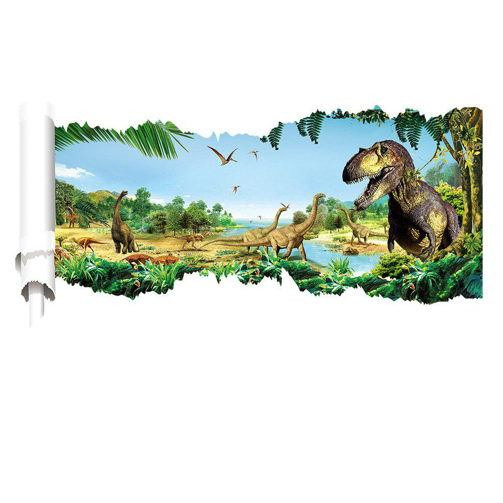 3D Through Dinosaur Wall Stickers Decals for Kids Rooms Decal Sticker - 20  X 28 Inch 2aaea1b98f