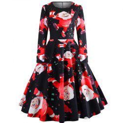 A Long-Sleeved Dress for Christmas -