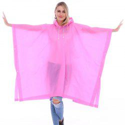 EVA Waterproof Rain Poncho Raincoat with Hoods for Outdoor Camping Theme Park -