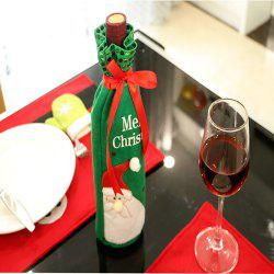 Christmas Wine Bottle Set Red Wine Gift Set -