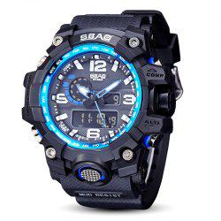 Fashion sports multi-function outdoor electronic silicone watch -