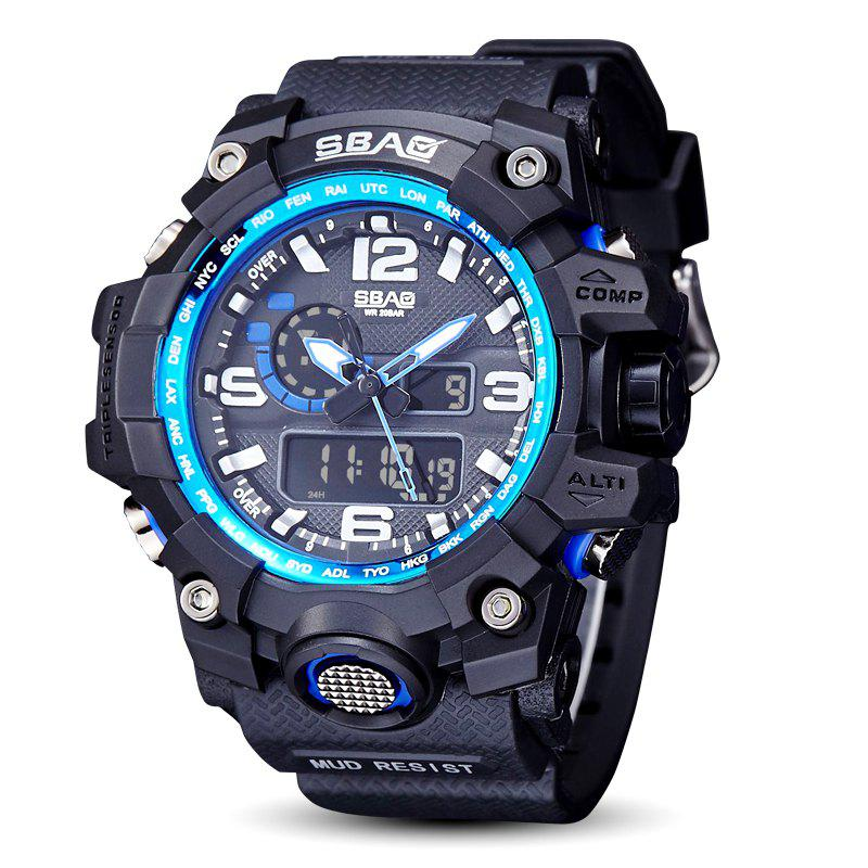 Store Fashion sports multi-function outdoor electronic silicone watch