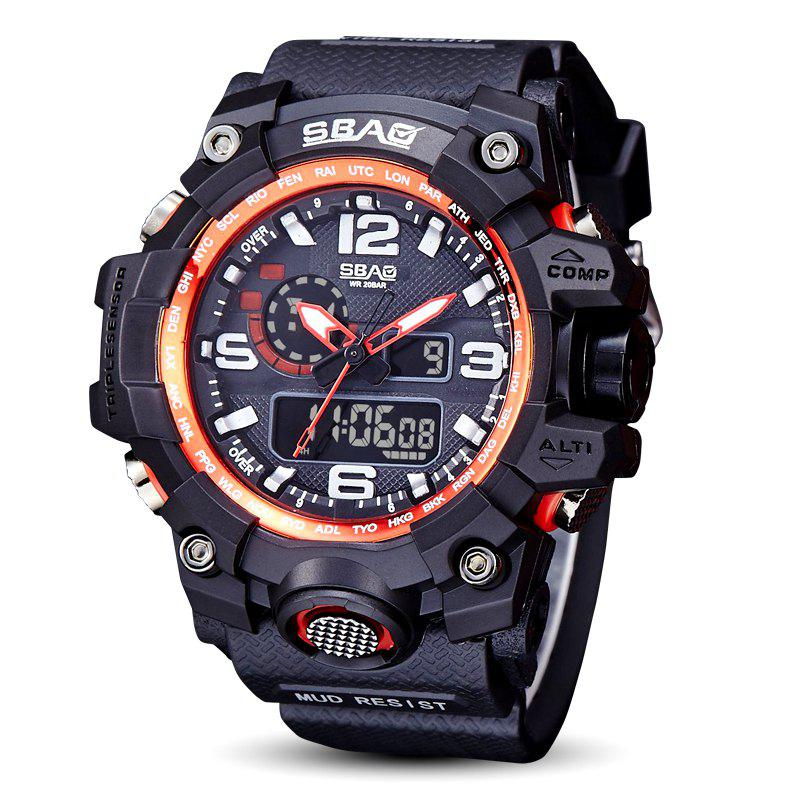 Chic Fashion sports multi-function outdoor electronic silicone watch