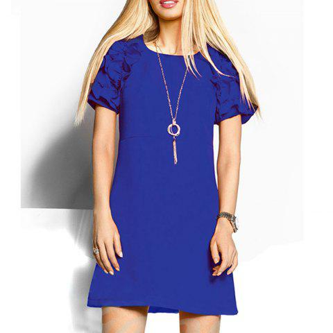 Novelty Butterfly Sleeve Women Dresses Summer Top Fashion Ladies