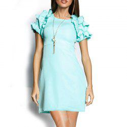 Novelty Butterfly Sleeve Women Dresses Top Fashion Ladies -