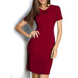 New 2018 Casual Summer Dresses Women Solid Sexy Knee Length Vintage -