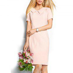 Casual Summer Dresses Women Solid Sexy Knee Length Vintage -