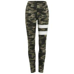 Women's Camouflage Leisure Yoga Legging -