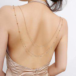 Sexy two-layer body chain -