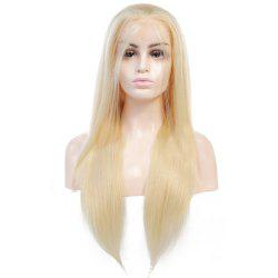 Longjia Lace Front Wig 613 Remy Hair Indian Human Hair -