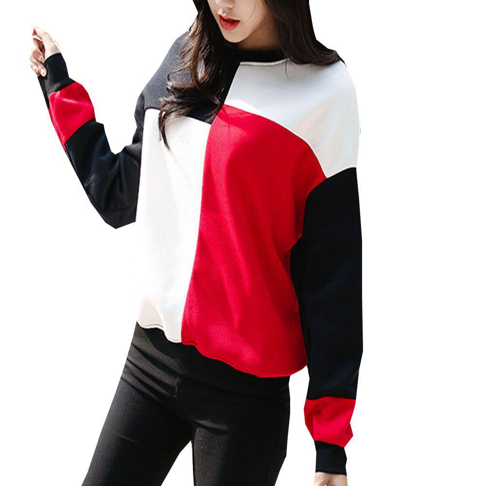 Shop New Black and White Square Tiling Hooded Jacket