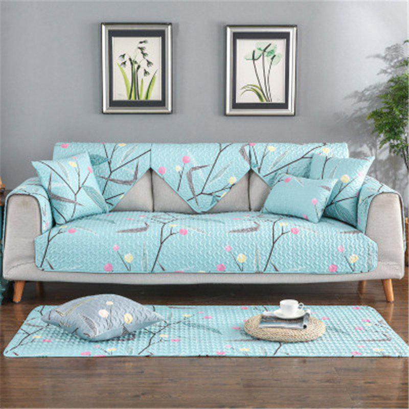 Best Four Seasons Fresh Pattern Cotton Sofa Cushion (70 x 70CM)