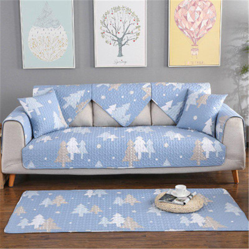 Chic Four Seasons Fresh Pattern Cotton Sofa Cushion (70 x 70CM)