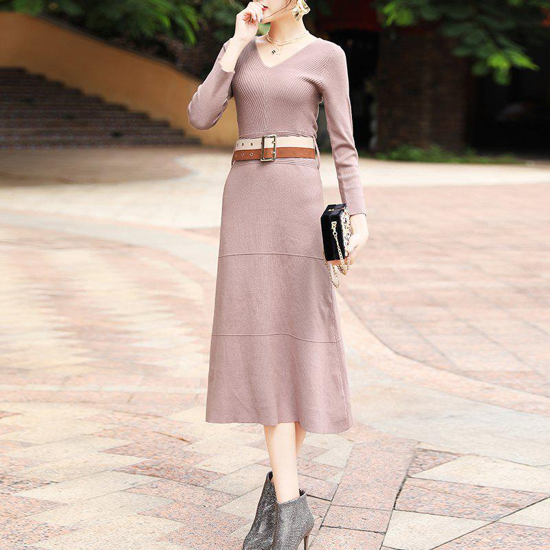 Chic Autumn and Winter Fashion Knitted Skirts