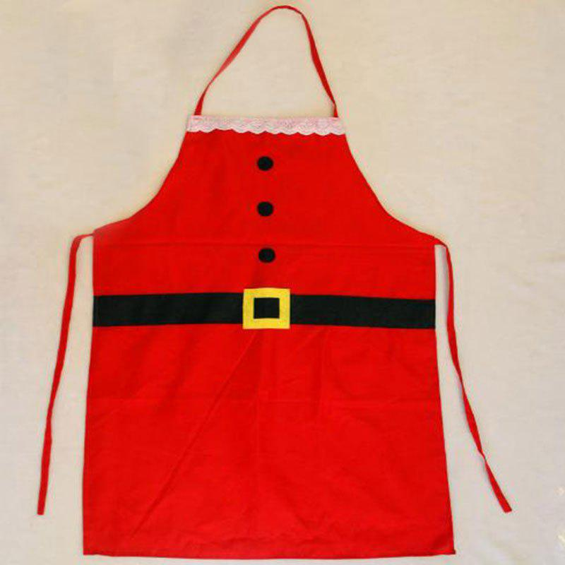 Chic Christmas Holiday Clothing Items Christmas Apron Family Christmas Party Supplies