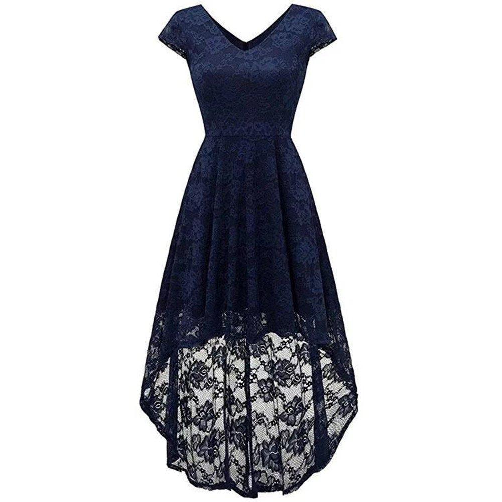 Store Women's Wear V Collar Cocktail Lace Dress