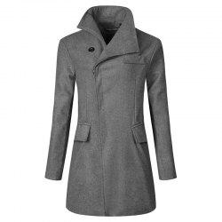Trench homme boutonné -