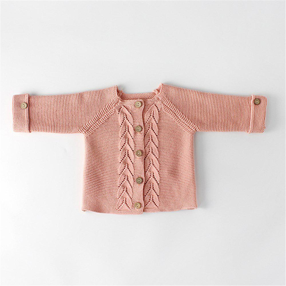 2078a25faa96 2019 Baby Girls Boys Clothes Knitted Romper Set Infant Cardigan ...
