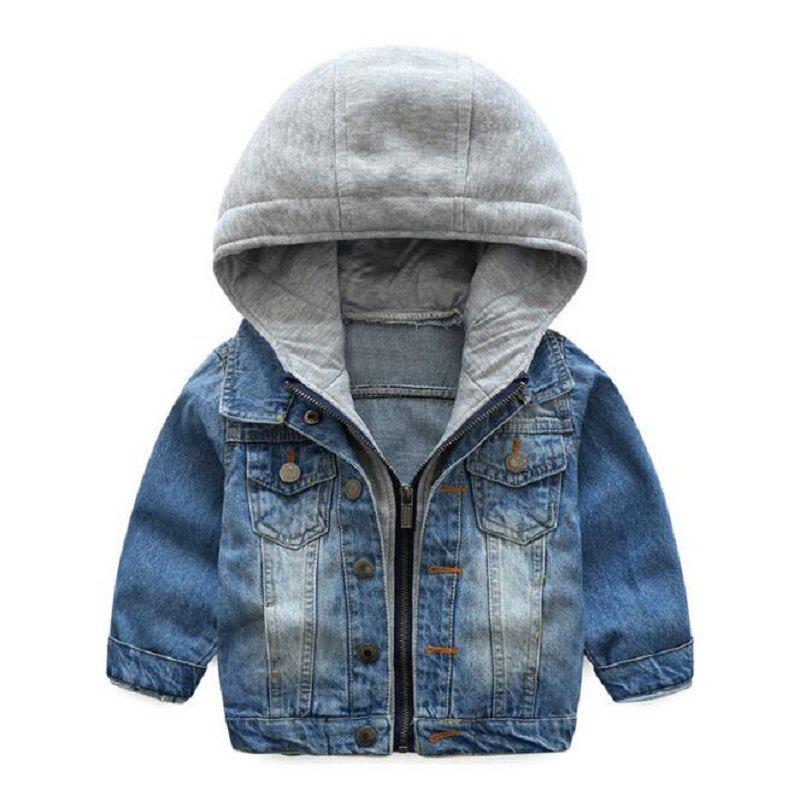3f9ae4da6 2019 2019 Kids Denim Jacket Boys Girls Jean Coat Clothing Fashion ...