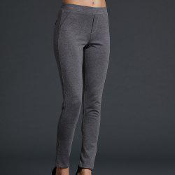 SBETRO Tight Pants Elastic Waist Ponte Legging Повседневная мода -