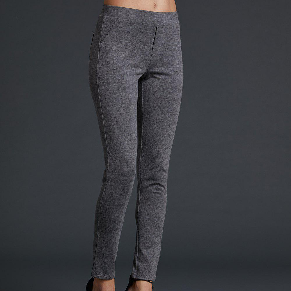 SBETRO Tight Pants Elastic Waist Ponte Legging Повседневная мода