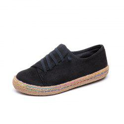 Leisure Comfort Round Head Low Aider Des Chaussures Paresseuses -