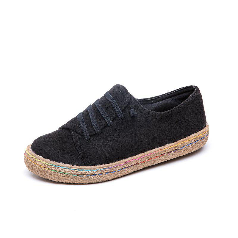 Leisure Comfort Round Head Low Aider Des Chaussures Paresseuses