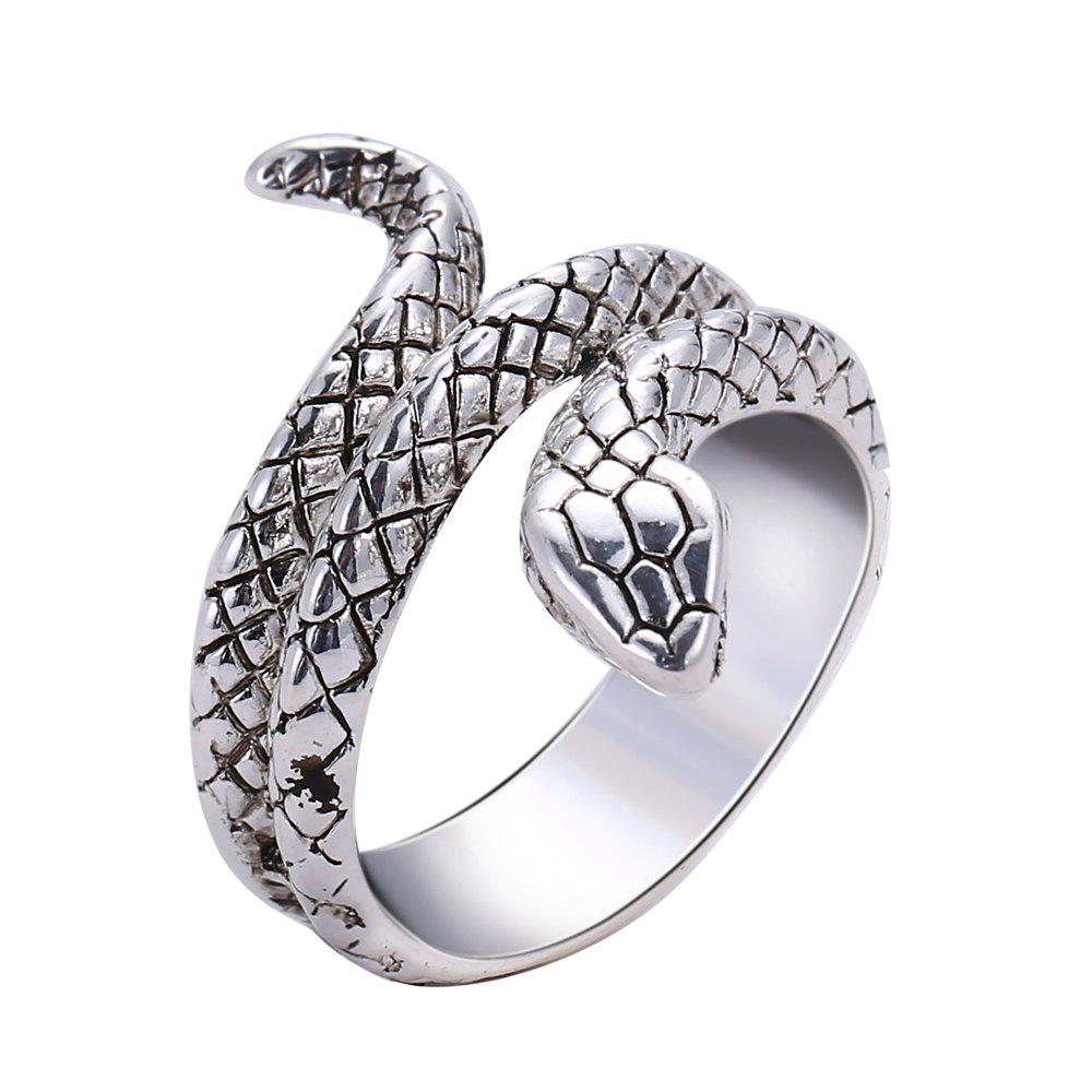 Trendy Fashion Creative Punk Snake Ring
