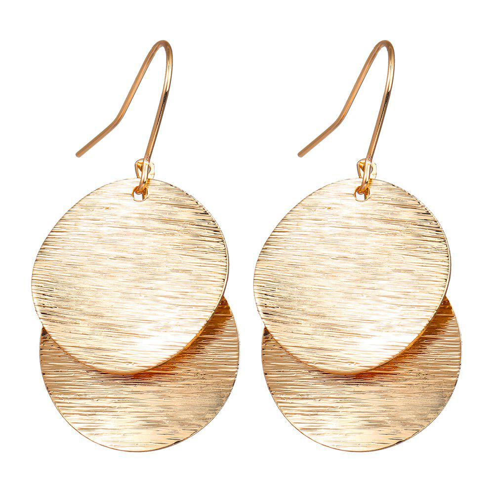 Affordable Fashion Simple Round Pendant Earrings