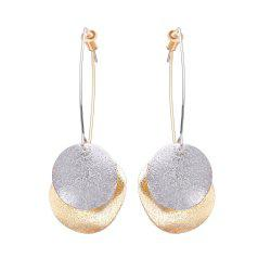 Fashion Creative Simple Round Earrings -
