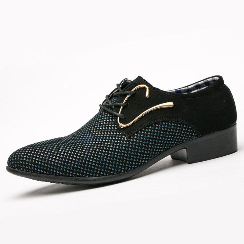 Online Big Size New Men'S Casual Shoes Pointy Leather Shoes
