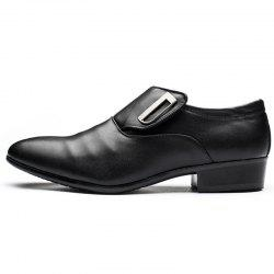 Business Casual Leather Men's Shoes -