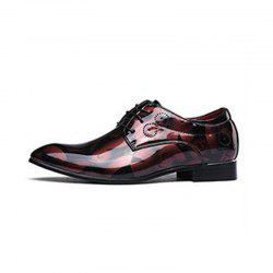 Мужская обувь Big Size Fashion Pointed Leisure Lace-up Shoes -
