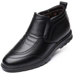 Men with Velvet Cotton Shoes Business and Leisure Travelers -