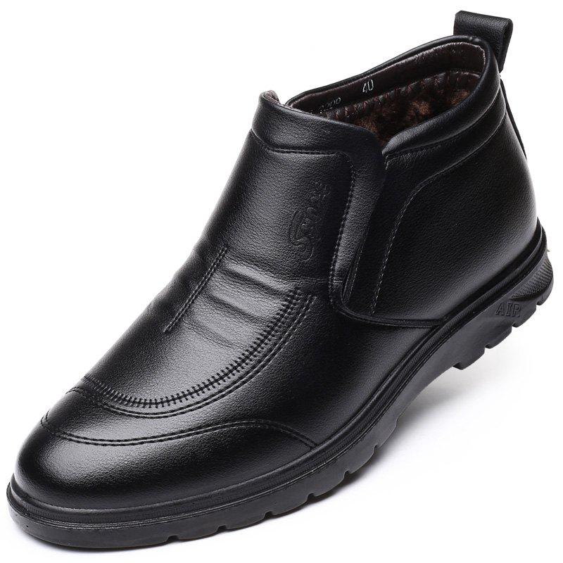 Hot Men with Velvet Cotton Shoes Business and Leisure Travelers