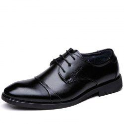 Men'S Fashion Leisure Business Leather Shoes -